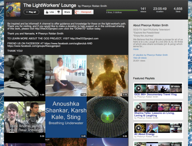 Lightworkers Lounge Screen Shot